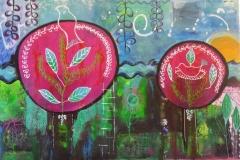 kleurrijke bomen (verkocht)
