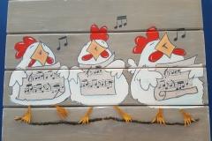 kipjes zingend