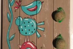vogel en voer
